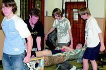 Mladí záchranáři