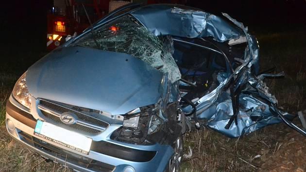 Tragická nehoda na přejezdu v Kardašově Řečici.