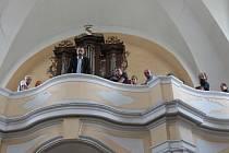 Varhanní koncert v Deštné.