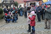 Vánoční trh v Kardašově Řečici.