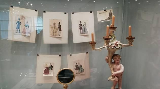 Výstava představuje další neřest šlechticů - marnivost.