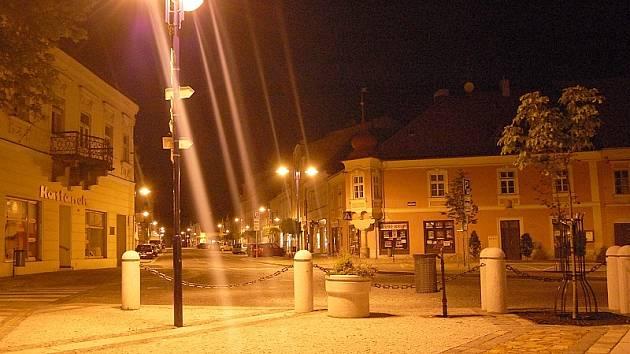 Masarykovo náměstí v Jindřichově Hradci.