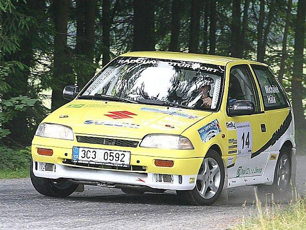 Na trať Radouňské rallye vyrazí i posádka pořádajícího týmu Petr Michálek - Jan Hála.