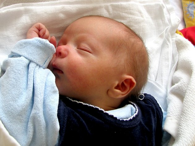 Matěj Vochozka z Příbraze se narodil 14. května 2012 Markétě a Martinovi Vochozkovým. Vážil 3920 gramů.