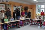 První školní den v základní škole ve Strmilově.