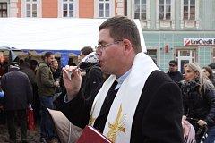 Svatomartinské slavnosti se konaly na jindřichohradeckém náměstí Míru.