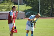 Jindřichohradečtí fotbalisté podlehli Sedlčanům 0:1.