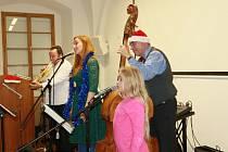 Adventní koncert JH Swing Bandu v Jindřichově Hradci.
