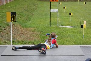 Letní biatlonisté ze Starého Města získali v 3. kolem Českého poháru celkem 15 medailí, z toho šest zlatých.