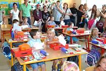 1. září v 6. základní škole na Hvězdárně v J. Hradci.