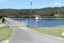 Úpravna vody na Landštejně.