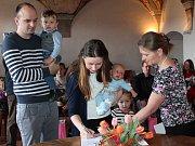 Místostarostka J. Hradce Petra Blížilová v pátek přivítala do života nové občánky města.