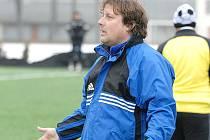 Trenér třeboňských fotbalistů Marcel Tomášek.