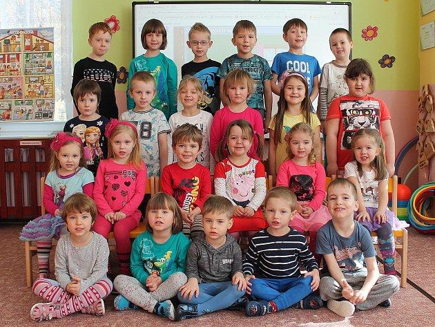 """3. mateřská škola """"UMerkuru"""" na sídlišti Vajgar vJindřichově Hradci – třída Koťata."""