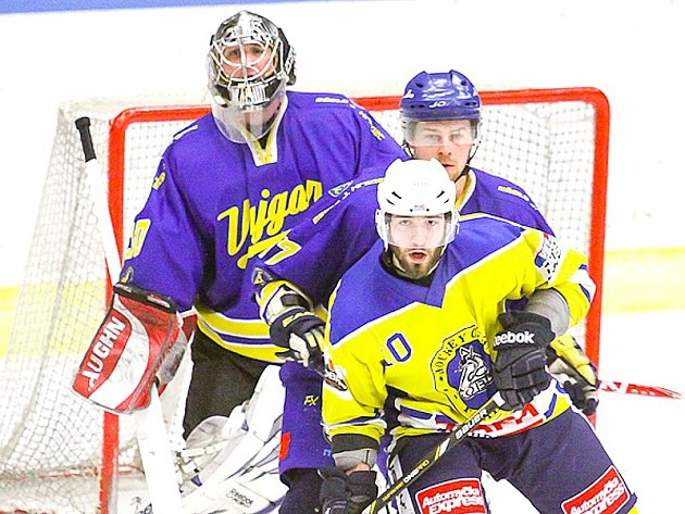 Hokejisté Vajgaru prohráli s Kobrou i druhý zápas osmifinále II. ligy.