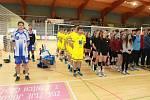 Republikové finále Sportovní ligy středních škol ve volejbalu se uskutečnilo v Jindřichově Hradci.