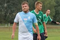 Kapitán Popelína Pavel Šuba přispěl k výhře svého celku v Kunžaku třemi góly.