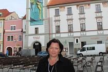 Galina Miklínová, ilustrátorka autorka animací a režisérka Lichožroutů přijela do Třeboně na Anifilm.