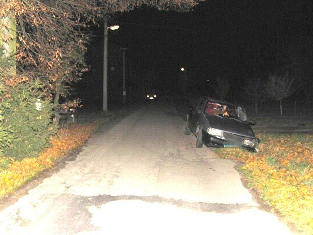 Dopravní nehoda v Karlově na Novovčelnicku