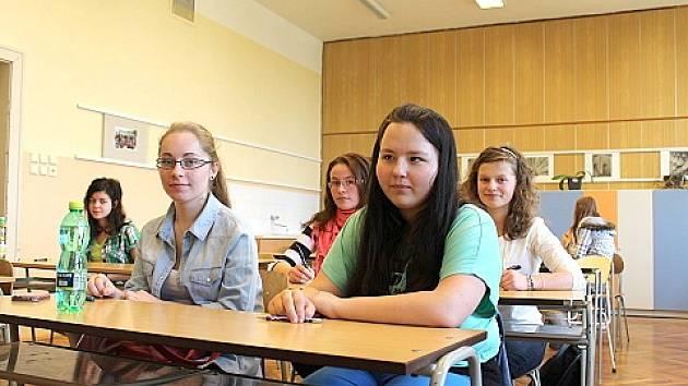 Přijímací zkoušky na střední školy. Ilustrační snímek.