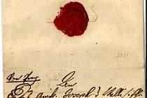 NEJCENNĚJŠÍ ODCIZENÉ ARCHIVÁLIE, které se nyní vrátily zpět do třeboňského státního  oblastního archivu.