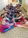Ponožkový den na 4. základní škole v Jindřichově Hradci.