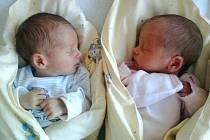 Klaudie a Sebastián Šikrovi ze Suchdola nad Lužnicí se narodili 8. července 2013 v českobudějovické porodnici Martině a Štěpánovi Šikrovým.