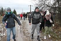 Silvestrovský výstup na Javořici oslavil dvacáté výročí.