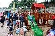 Pohádková zoo bavila děti i dospělé. Foto: Josef Böhm
