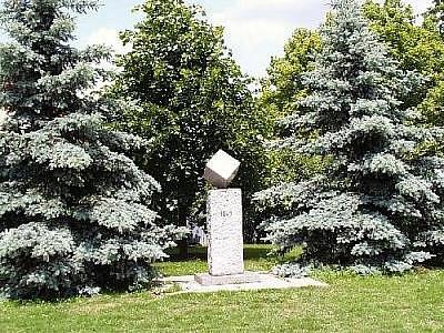 Pomník kostky cukru v Dačicích