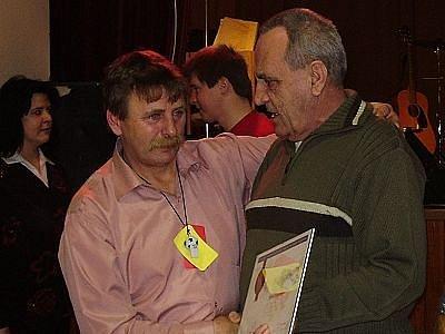 Jiří Koudelka (na snímku vlevo)
