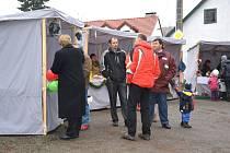 Vánoční trhy v Políkně.