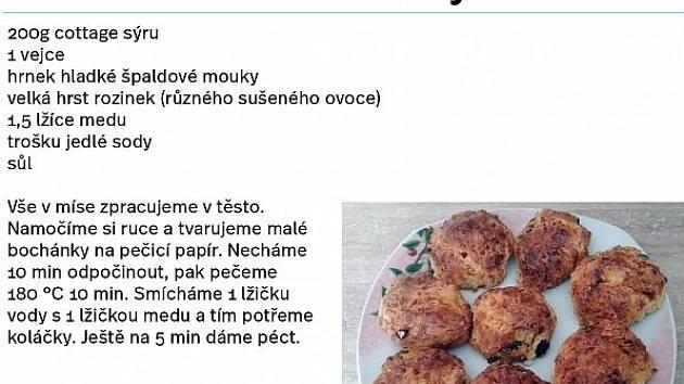 Rozinkové bochánky od Radky Třískové.