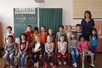 1. B ze základní školy v Českých Velenicích.