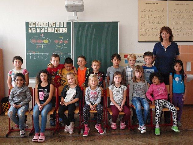 1. B ze základní školy vČeských Velenicích.