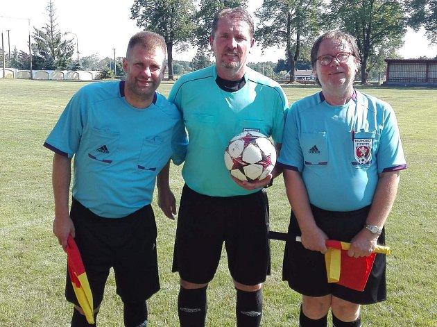 Fotbalový turnaj vHalámkách vyhráli hokejisté.