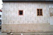 Pohled na restaurovaný dům s číslem popisným 545.