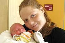Štěpán Hešík se narodil 17. srpna v 11 hodin a 41 minut Denise Vrlové a Martinu Hešíkovi. Vážil 3320 gramů a měřil 50 centimetrů.