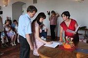V pátek 15. června se uskutečnilo vítání nových občánků.