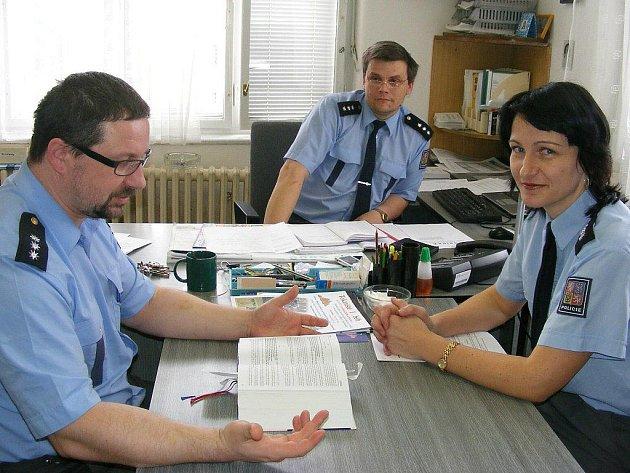 Představujeme policejní útvary