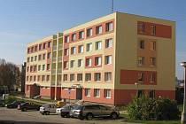 Střížovice. Pohled na revitalizované sídliště.