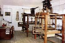 Muzeum tkalcovství ve Strmilově.
