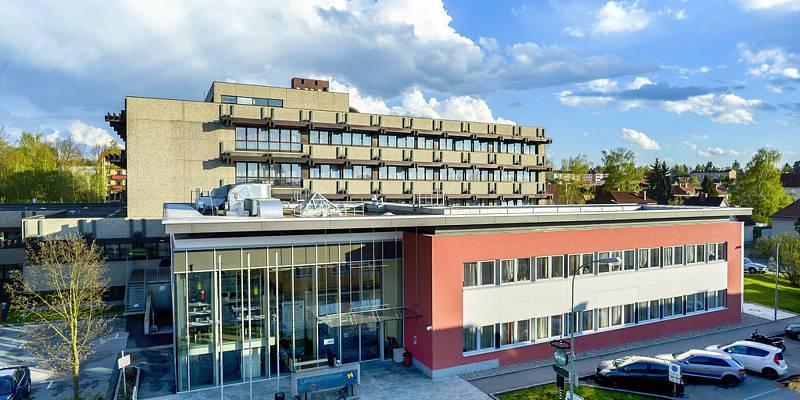 Rakouská nemocnice v Gmündu. Ilustrační foto.