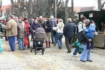 Farmářské trhy v Dačicích.