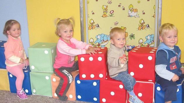 Dílnička dačického Baby Clubu při domě dětí.