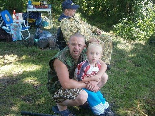 Josef Lazarov se synem a tatínkem ze Starého Města pod Landštejnem nemají jen stejné jméno, ale i rybařinu jako koníček.