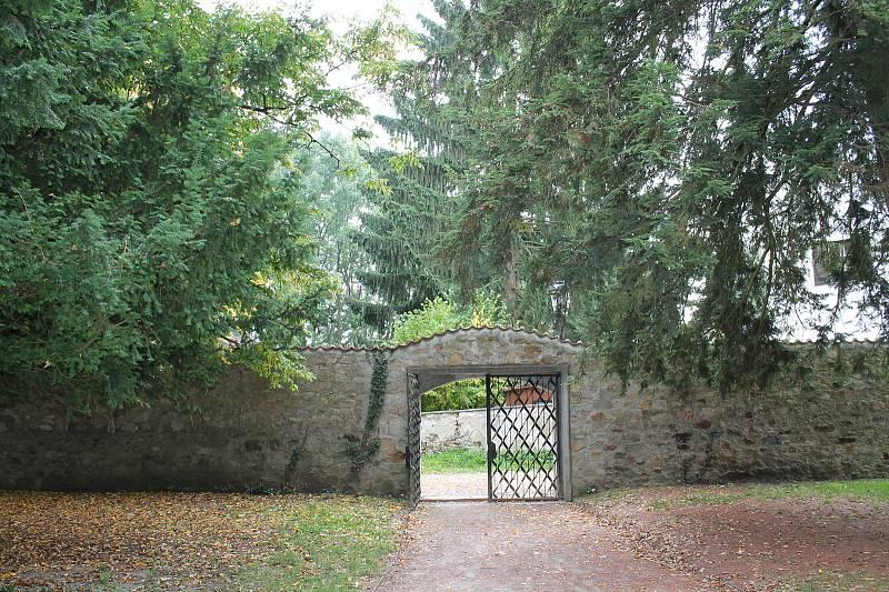Okolí jindřichohradeckého zámku.