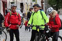 Desítky cyklistů vyrazily na populární Třeboňskou šlapku, k dispozici měli několik tras.