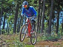 """""""Při extrémním sportu je potřeba se na kolo spolehnout,"""" říká Martin Hrabovský."""