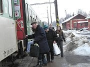 Vlaky na jindřichohradeckém nádraží ve čtvrtek asi neodjedou.